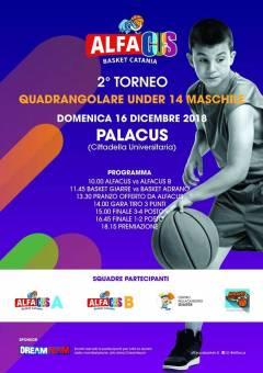 Logo II° Torneo AlfaCus Under 14