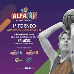 Logo I° Torneo AlfaCus Under 15
