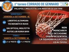 Logo II° Torneo Corrado De Gennaro