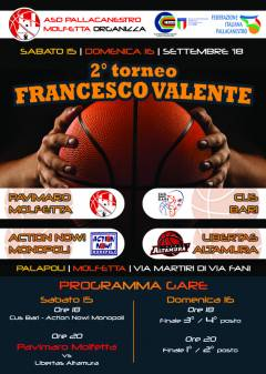 Logo II° Torneo Francesco Valente