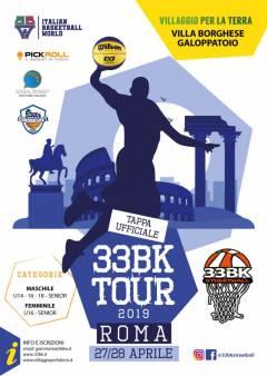 Logo Tour 33BK Streetball 2019