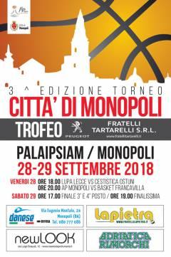 Logo IIIº Trofeo Città di Monopoli