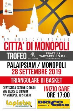 Logo Trofeo Città di Monopoli 2019