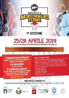 Logo IV° Trofeo Città di Monsummano Terme