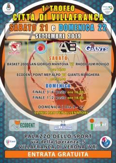 Logo Trofeo Città di Villafranca 2019