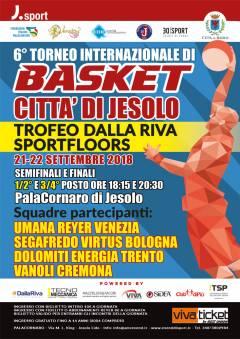 Logo VIº Torneo Internazionale Città di Jesolo