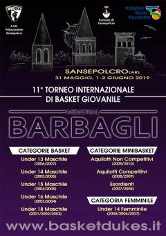 Logo XI° Memorial Pellico Barbagli