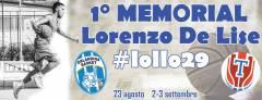 Logo I° Memorial Lorenzo De Lise