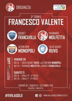 Logo Torneo Francesco Valente 2019